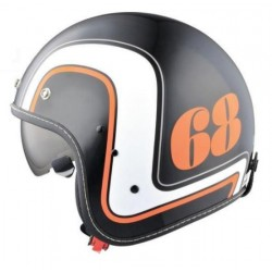 CASCO JET HIGHWAY RETRO 68 BLACK (OUTLET)