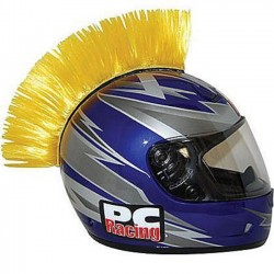 CREST YELLOW HELMET