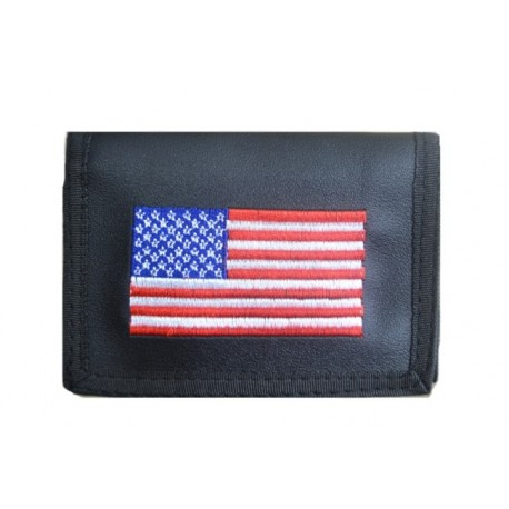 WALLET WITH CHAIN ​​USA PATRIOT FLAG (OUTLET)