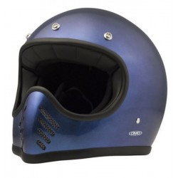 DMD SEVENTY FIVE METALLIC BLUE FULLFACE HELMET