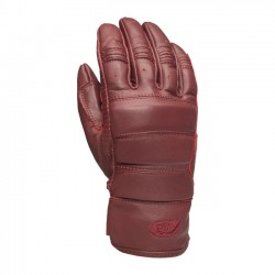 GUANTES ROLAND SANDS RONIN ROJO OXBLOOD