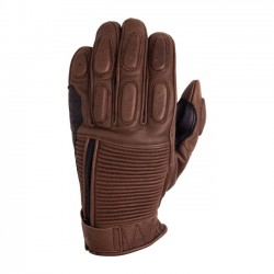 GUANTES ROLAND SANDS DEZEL TABACO