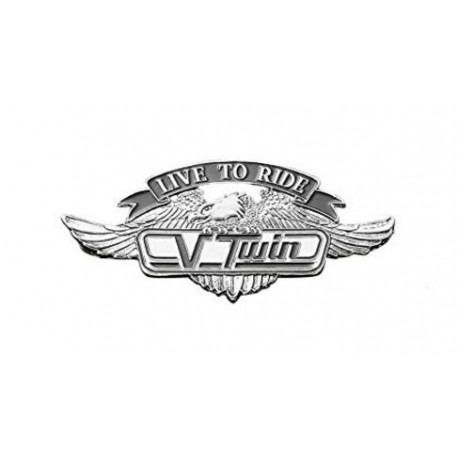 EMBLEM LIVE TO RIDE V-TWIN SMALL