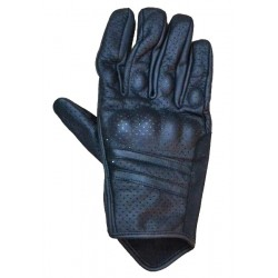 LEATHER GLOVES SUMMER MICROPERFORATED