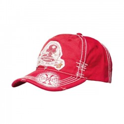 GORRA WEST COAST CHOPPERS DEATH PROOF ROJA