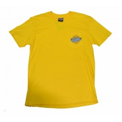 YELLOW SPLIT HARLEY DAVIDSON TEE (OUTLET)