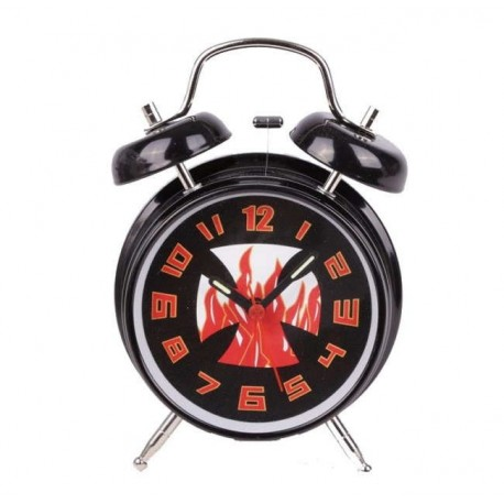 CROSS FLAME ALARM CLOCK