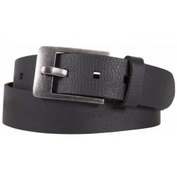 HIGHWAY 1 BELT LEATHER BLACK RETRO