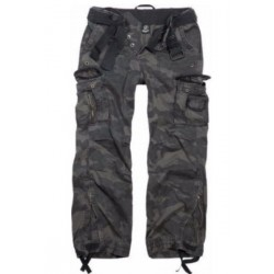 BRANDIT ROYAL VINTAGE TROUSERS CAMOUFLAGE