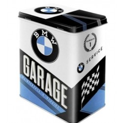 BMW GARAGE METAL BOX
