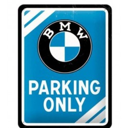 BMW PARKING ONLY PLATE GARAGE