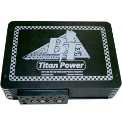 TITAN 4-CHANNEL COMPACT AUDIO AMPLIFIER