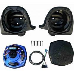 ROKKER SPEAKER KIT FOR HARLEY DAVIDSON ELECTRA GLIDE ULTRA 06-13