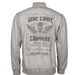SUDADERA WEST COAST CHOPPER RIDE HARD SUCKER