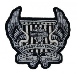 PARCHE HARLEY DAVIDSON WINGS EST. 1903 11 x 10 CM.