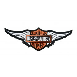 PATCH HARLEY DAVIDSON WINGS 28.5 X 10 CM.