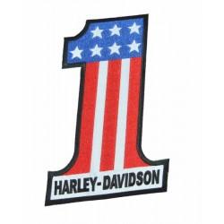 PATCH HARLEY DAVIDSON Nº 1 USA 23.5 X 15.5 CM.