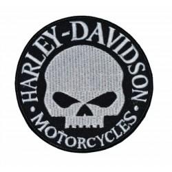 PARCHE HARLEY DAVIDSON SKULL 9 CM.