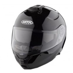 MTR K-13 FLIP-UP HELMET BLACK SOLID
