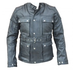 TOURING RACER JACKET WITH PROTECTION (OUTLET)