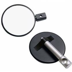 BLACK POLE HANDLEBAR MIRROR (OUTLET)