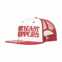 RED WEST COAST CAP RED LOGO