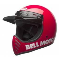 BELL MOTO 3 RED HELMET HELMET