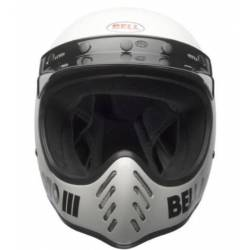 CASCO INTEGRAL MOTO 3 BLANCO