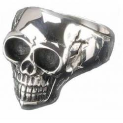 SKULL SURGICAL STEEL RING