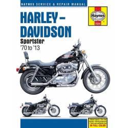 MANUAL REPARACIÓN HAYNES HARLEY DAVIDSON SPORTSTER 70-13