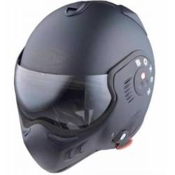 CASCO ABATIBLE ROOF V8 NEGRO MATE