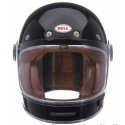 CASCO INTEGRAL BELL BULLITT NEGRO BRILLO