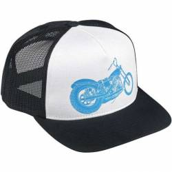 BILTWELL SWINGARM WHITE CAP