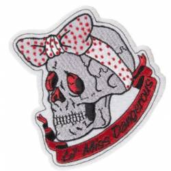 PARCHE LETHAL THREAT TOP HAT SKULL