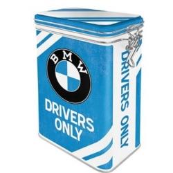 CAJA METAL AROMA BMW DRIVERS ONLY