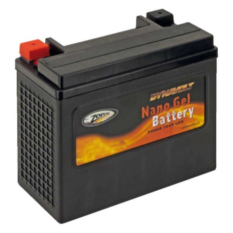 BATTERY LITHIUM-ION ZODIAC HARLEY FL 80-96, DYNA 97-UP, SOFTAIL 86-UP