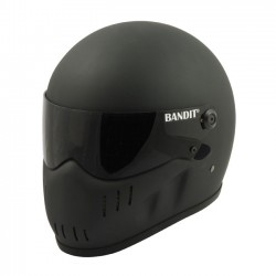 BANDIT FULL FACE HELMET XXR MATTE BLACK (OUTLET)