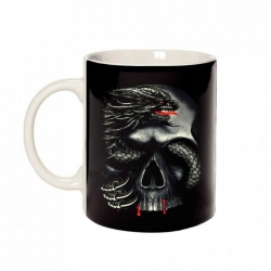 DRAGON SKULL CERAMIC CUP