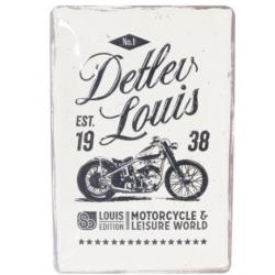 LOUIS EDICION 80 PLATE GARAGE METALLIC