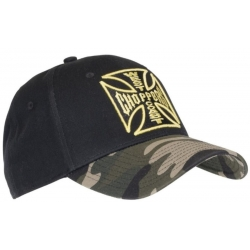 WEST COAST CHOPPERS CROSS ARMY CAP