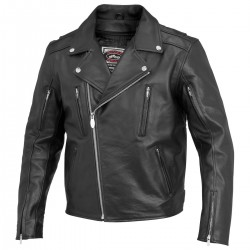 CHAQUETA PIEL RIVER ROAD IRONCLAD (OUTLET)