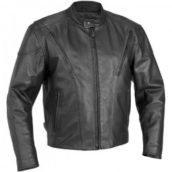 CHAQUETA PIEL RIVER ROAD RACE VENTED (OUTLET)