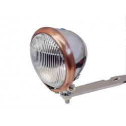 MINI DRIVE LIGHT CHROME COPPER HOOP