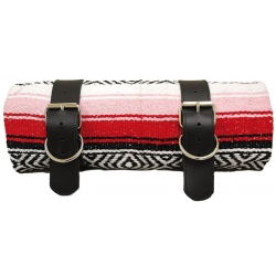 MEXICAN SERAPE ROLL-UP RED