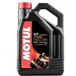 ENGINE OIL MOTUL 7100 SYNTHETIC 4 LITERS SAE 5W-40