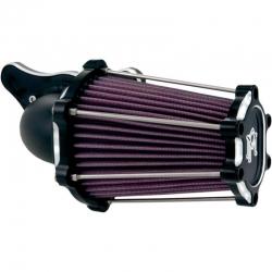 AIR FILTER PERFORMANCE MACHINE FAST AIR CONTRAST CUT HARLEY DAVIDSON XL 91-18