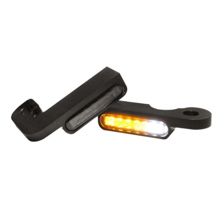 FRONT INDICATORS WITH BLACK POSITION LIGHT HARLEY DAVIDSON TOURING 93-08