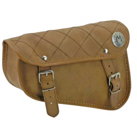 BROWN ROMBOS SWALLOWING SADDLEBAG HARLEY DAVIDSON SPORTSTERS 04-UP