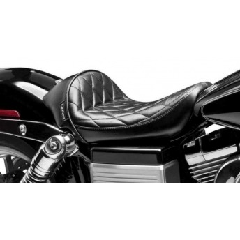 SEAT 04-16 KNUCKLE WITH SPORTSTER HARLEY DAVIDSON 12.5 GALLON TANK