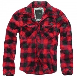 RED BRANDIT CHECK SHIRT